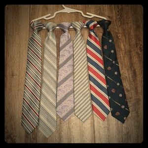 Clip On Neck Ties Came with Shirts Size 8-14